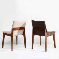 北欧实木餐椅 简约美式现代简欧餐厅创意休闲个性椅子