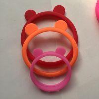 新款啪啪圈固态硅胶手环多色硅胶拍拍圈手腕带儿童玩具可订做