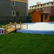 鼎越矿产直销儿童乐园专用水洗无尘白沙子 室内沙池玩的细白沙