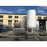 菏锅供应10立方16公斤液氧低温储罐,型号CFL-10/1.6