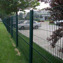 东莞桃型柱护栏网免费送样 惠州学校铁丝网护栏 喷塑护栏