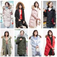 韩版时尚女士棉服外套库存女士羽绒外套批发15元外套清仓低价清货
