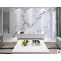 现代简约电视背景墙瓷砖微晶石客厅3d仿大理石材影视造型护墙板