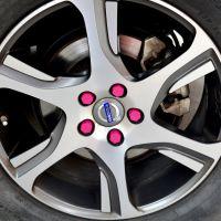 汽车轮毂螺丝保护盖硅胶螺丝帽汽车改装外饰用品 防尘防锈轮胎帽
