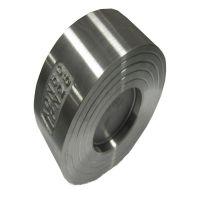 供应国标 H71W型304不锈钢对夹式止回阀 超短型止回阀
