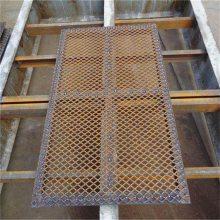 冲孔铁板网 重型钢板网 油罐车脚踏网