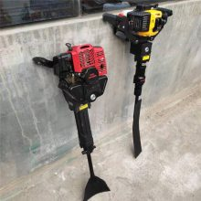 天津便携式汽油挖树机 佳鑫合金链条起树机 多功能园林移苗机厂家