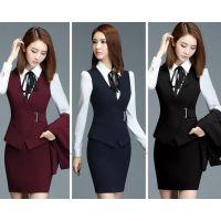 越秀区职业套装定做,OL西装裙制作,工装西服定制