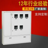 5位电表箱配电箱 户外配电箱非标箱定做 防窃铁电表箱