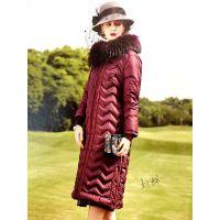 雪莱尔服饰品牌女装宝莱国际羽绒服折扣批发|女装供应