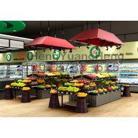 恒缘诚订做批发水果超市货架、蔬果台
