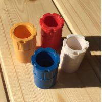 锁母PVC阻燃国标电工配件塑料杯梳接线盒锁扣16 20 25 32 40