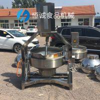 豆沙月饼馅自动搅拌锅炒馅的机器设备
