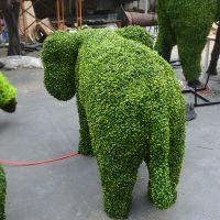 浩晟 小区绿化景观绿雕 仿真小动物 仿真植物造型 绿色环保假植物动物