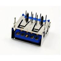 OPPO 9PIN板上蓝胶母座/大电流5A/前两脚插板/端子加粗/彩色胶芯