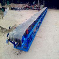 供应结构方便、输送量大通用固定式带式输送机厂家