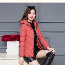广州便宜冬装加厚羽绒服女式棉服貉子超大毛领连帽外套白鸭绒棉服清货