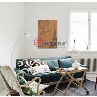 兴宁宣传栏留言板A广州幼儿园作品展示板S彩色软木板照片墙