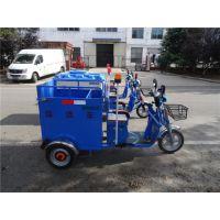 新型环保环卫机械电动三轮装通车公共场所环保专用垃圾车