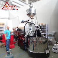 咖啡烘豆机大型自动化咖啡烘焙设备 南阳东亿提供全套定制化服务15688198688