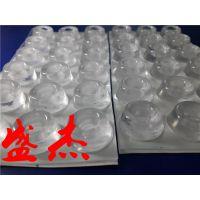 SJ透明PVC防滑脚垫 自粘PVC透明玻璃防滑胶垫生产厂家-盛杰橡塑