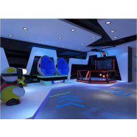 VR虚拟现实体验馆标配四个火枪手射击馆、VR万向跑步机、VR太空舱