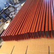 赣州市木纹转印铝方管价格 吊顶铝方管厂家_欧百得