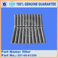小松挖掘机配件200-8 新款柴滤600-319-3750原厂滤芯低价正品