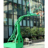 地埋圆管篮球架,箱体移动单臂型篮球架康腾厂家