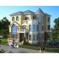 南昌别墅设计AT1779三层欧式带地下室车库复式楼别墅全套施工图纸12.4mX13.2m