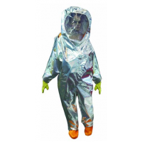 全封闭 带呼吸器背囊 防火防化服 KM11/FHLWS-010 精迈 材质:安检阻燃布双面涂覆氯