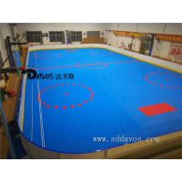 轮滑冰球场专业围栏挡板生产厂家