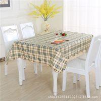 跨境桌布批发PVC台布防水茶几布酒店用品圆形塑料餐桌布一件代发