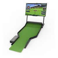 供应韩国原装进口出智能推杆高尔夫模拟器 室内模拟高尔夫 诚邀加盟代理