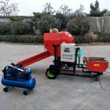 青贮打捆机 全自动青贮打包机视频 批发柴油带动打捆机