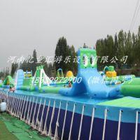 河南洛阳大型水上冲关 水上乐园生产厂家