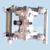 气动隔膜泵结构图和气动隔膜泵工作原理的规格