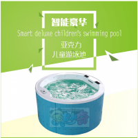 四川金妙奇婴儿游泳馆设备单买加盟之产品介绍亚克力儿童游泳池