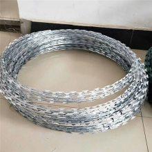 铁路护栏防攀网 浸塑刀片刺绳 滚笼网价格