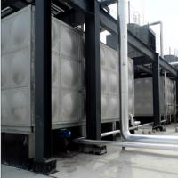 吉盛提供方形不锈钢水箱环保304水箱定制