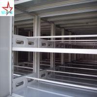 增大空间使用率 手摇式移动密集架 质量好 保修5年 防锈能力强 承载大