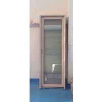 佛山美多裕门窗定制铝合金门窗 供应厕所无包边平开门 隔音防水
