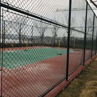 厂家供应PVC勾花网 护坡防护 安全防护球场护栏网 学校球场围网