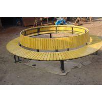 鸿晨供应环保塑木,户外木塑围树椅厂家