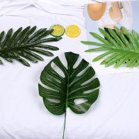 韩国极简ins拍照道具仿真树叶植物热带椰树叶子摄影背景摆拍道具