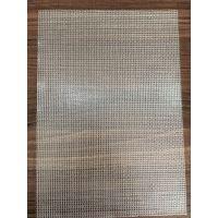 PVC透明夹网布 周转箱防尘帘 中空板箱防尘帘