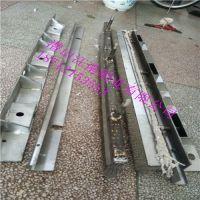 环冷机进料口密封钢刷 环冷机台车以前采用橡胶条密封