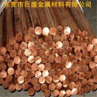 东莞巨盛现货供应12MM碲铜棒 C14500碲铜圆棒材