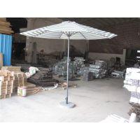 供应洛阳水上世界铝架中柱伞:河南旅游区铝架香蕉伞
