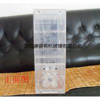 定制亚克力透明电脑机箱 有机玻璃DIY主机箱 深圳德盛制品